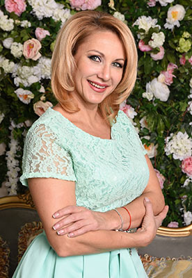 Strict woman Irina from Borispol (Ukraine), 50 yo, hair color blonde
