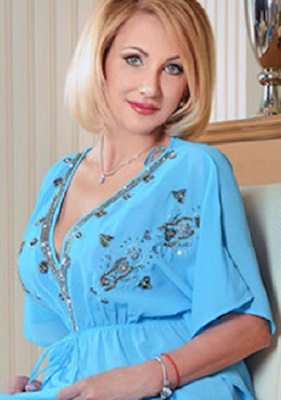 Strict woman Irina from Borispol (Ukraine), 49 yo, hair color blonde