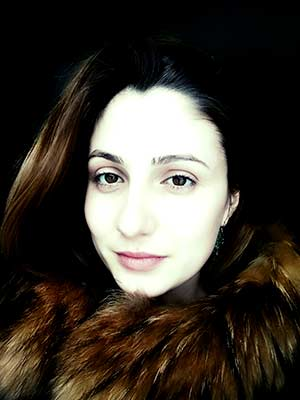 Active bride Ekaterina from Lugansk (Ukraine), 28 yo, hair color dark brown
