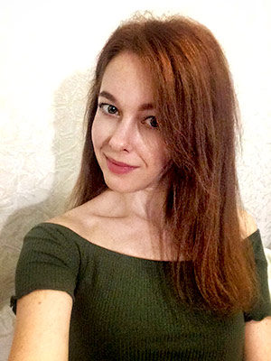 Sincere bride Anna from Kiev (Ukraine), 33 yo, hair color red-haired