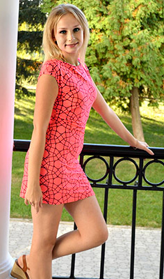 Eventempered lady Ekaterina from Sumy (Ukraine), 23 yo, hair color brown