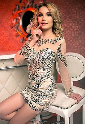 Kind lady Anastasiya from Kiev (Ukraine), 27 yo, hair color blonde