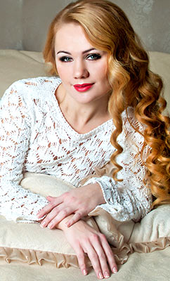 Tender bride Inga from Kiev (Ukraine), 33 yo, hair color red-haired