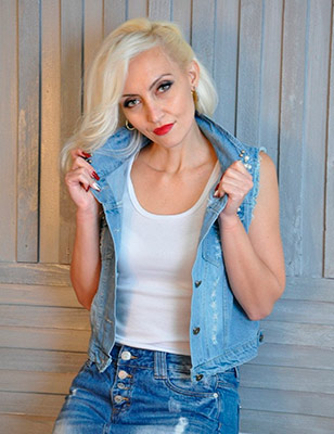 Modest woman Svetlana from Kiev (Ukraine), 41 yo, hair color blonde