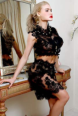 Kind girl Kristina from The Hague (Netherlands), 27 yo, hair color blonde