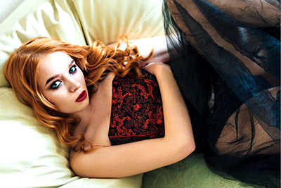 Kind lady Polina from Chelyabinsk (Russia), 22 yo, hair color red-haired