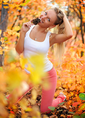 Kind lady Ol'ga from Kiev (Ukraine), 34 yo, hair color brown