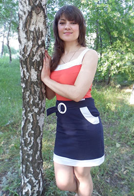 Kind lady Tat'yana from Torez (Ukraine), 33 yo, hair color brunette