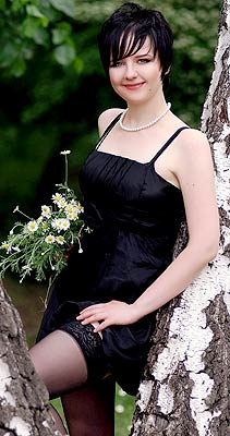 Intelligent woman Tat'yana from Lugansk (Ukraine), 31 yo, hair color brunette