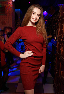 Dream girl Ekaterina from Lugansk (Ukraine), 21 yo, hair color dark brown