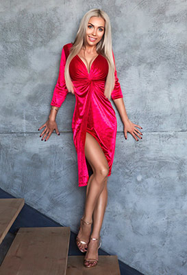 Healthy lady Nadejda from Kiev (Ukraine), 31 yo, hair color blonde