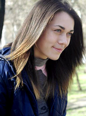 Pisces lady Ekaterina from Lutugino (Ukraine), 24 yo, hair color brown-haired