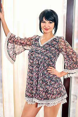 Decent bride Yuliya from Melitopol (Ukraine), 36 yo, hair color brunette