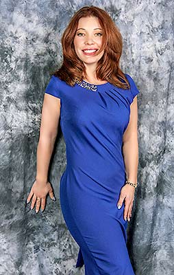 Merry woman Kseniya from Melitopol (Ukraine), 37 yo, hair color red-haired