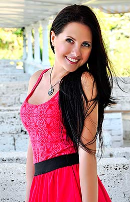Incredibly woman Anna from Nikolaev (Ukraine), 33 yo, hair color black
