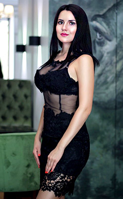Blond girl Valentina from Nikolaev (Ukraine), 24 yo, hair color brunette