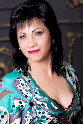 Sociable bride Irina from Nikolaev (Ukraine), 49 yo, hair color brunette