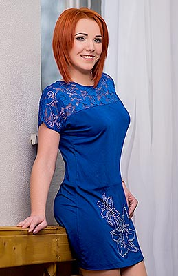 Positive lady Nataliya from Nikolaev (Ukraine), 36 yo, hair color red-haired