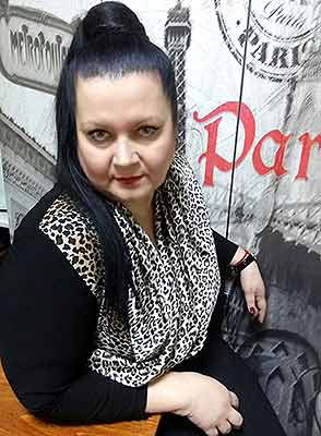 Sincere bride Irina from Nikolaev (Ukraine), 54 yo, hair color black