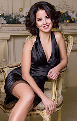 Grateful bride Galina from Kiev (Ukraine), 33 yo, hair color brunette