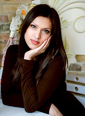 Positive woman Ol'ga from Odessa (Ukraine), 38 yo, hair color chestnut