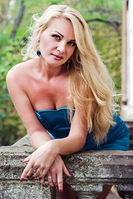 Sweet lady Elena from Nikolaev (Ukraine), 36 yo, hair color blonde