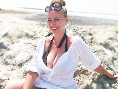 Sociable lady Inna from Kakhovka (Ukraine), 34 yo, hair color brown