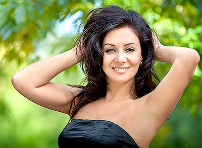 Open bride Lyudmila from Nikolaev (Ukraine), 46 yo, hair color brunette