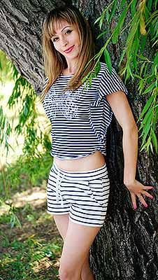 Trustworthy woman Viktoriya from Nikolaev (Ukraine), 30 yo, hair color brown