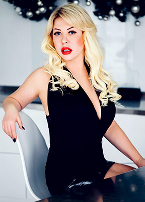 Cultured lady Marina from Nikolaev (Ukraine), 55 yo, hair color blonde