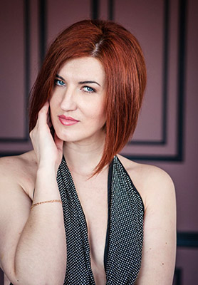 Harmonious lady Aleksandra from Nikolaev (Ukraine), 35 yo, hair color red-haired