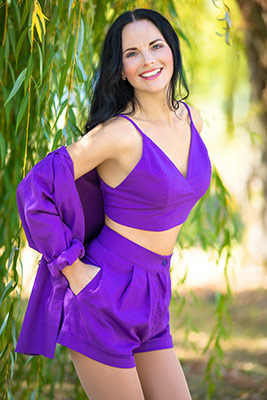 Optimistic lady Mariya from Nikolaev (Ukraine), 33 yo, hair color chestnut