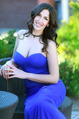 Grateful woman Tat'yana from Nikolaev (Ukraine), 37 yo, hair color black