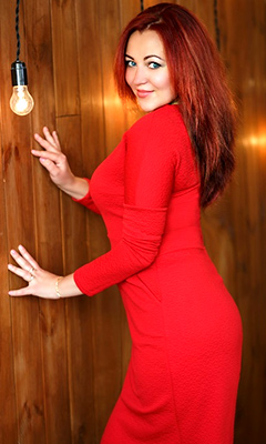Familyoriented woman Viktoriya from Nikopol (Ukraine), 42 yo, hair color red-haired