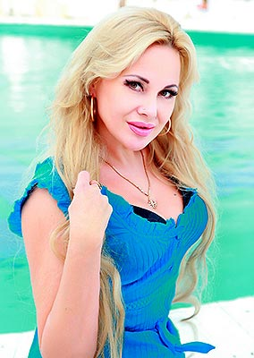 Kind woman Nataliya from Odessa (Ukraine), 46 yo, hair color blonde