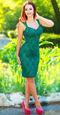Jolly woman Nadejda from Odessa (Ukraine), 35 yo, hair color red-haired