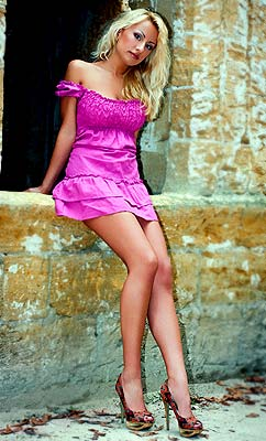 Proud lady Galina from Odessa (Ukraine), 31 yo, hair color blonde
