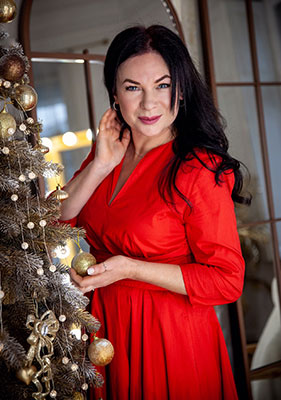 Honest woman Liliya from Odessa (Ukraine), 52 yo, hair color brunette