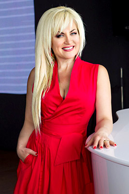 Romantic lady Alla from Odessa (Ukraine), 52 yo, hair color blonde
