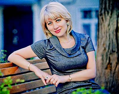 Sociable bride Lyudmila from Belgorod-Dnestrovsky (Ukraine), 51 yo, hair color blonde