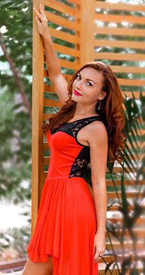 Kind woman Irina from Odessa (Ukraine), 30 yo, hair color red-haired