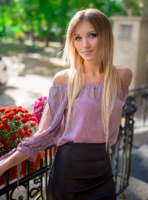 Elegant girl Anastasiya from Odessa (Ukraine), 25 yo, hair color light brown