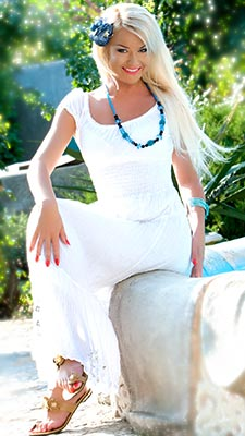 Brave lady Lyudmila from Odessa (Ukraine), 41 yo, hair color blonde