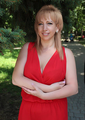 Kind lady Irina from Odessa (Ukraine), 48 yo, hair color peroxide blonde