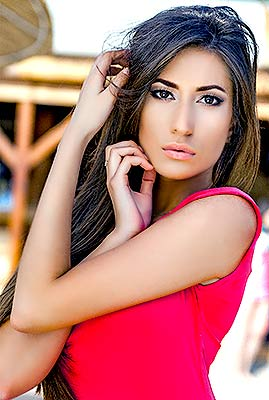 Romantic bride Anastasiya from Odessa (Ukraine), 24 yo, hair color brown-haired