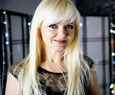 Tolerant lady Elena from Poltava (Ukraine), 47 yo, hair color blonde