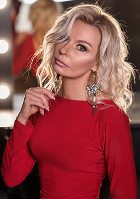Spontaneous wife Yaroslava from Poltava (Ukraine), 40 yo, hair color blonde