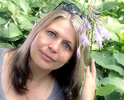 Communicable lady Ol'ga from Poltava (Ukraine), 45 yo, hair color brown