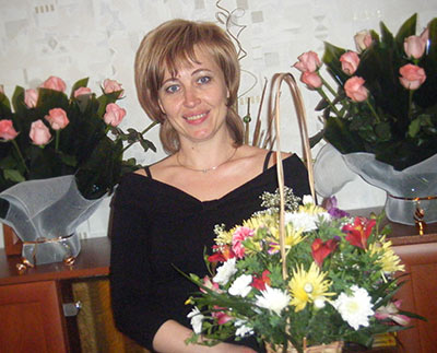 Independent lady Lyudmila from Poltava (Ukraine), 49 yo, hair color blond