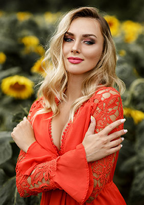 Romantic girl Dar'ya from Poltava (Ukraine), 25 yo, hair color blonde